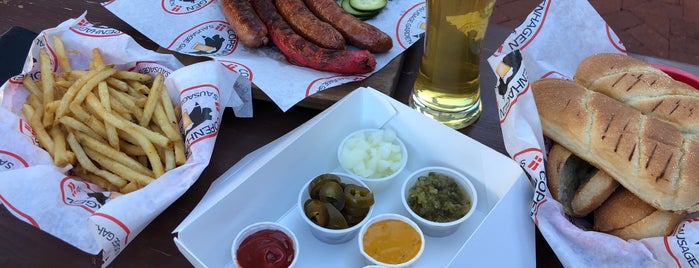 Copenhagen Sausage Garden is one of Santa Barbara.