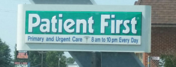 Patient First - Waldorf is one of Most Used.