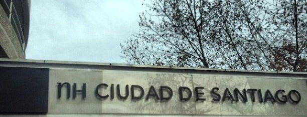 Hotel NH Ciudad de Santiago is one of Locais curtidos por Jonathan.