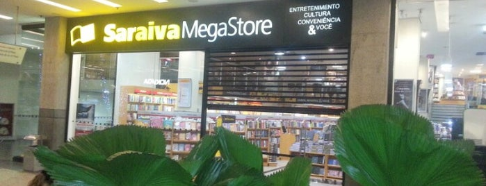 Saraiva MegaStore is one of Locais curtidos por Raquel.