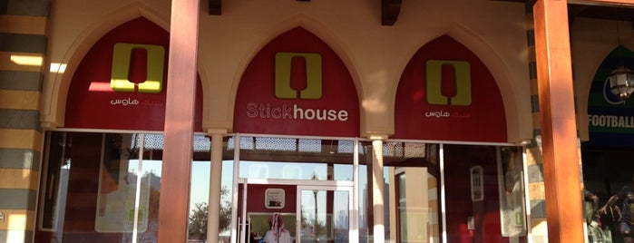 Stick house is one of Qatar.
