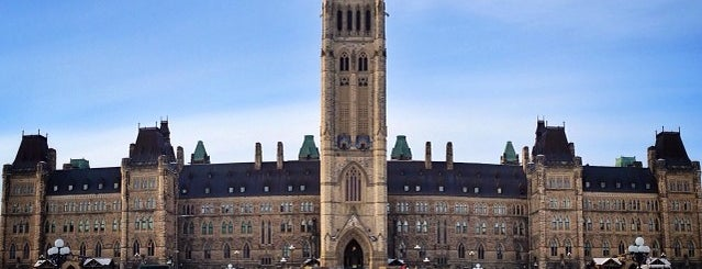 Parliament of Canada - Centre Block is one of สถานที่ที่ Migue ถูกใจ.