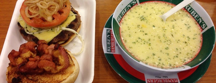 Ruben's Hamburgers is one of Places 2!.