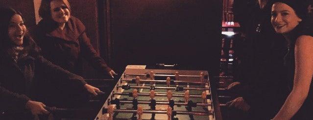 B-Side is one of Foosball bars.