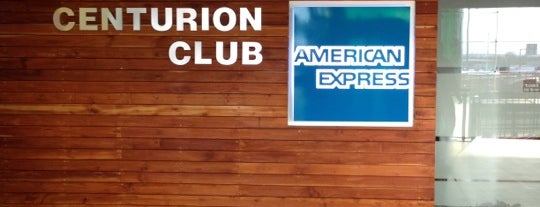 The Centurion Lounge by American Express is one of Lugares favoritos de Ana.