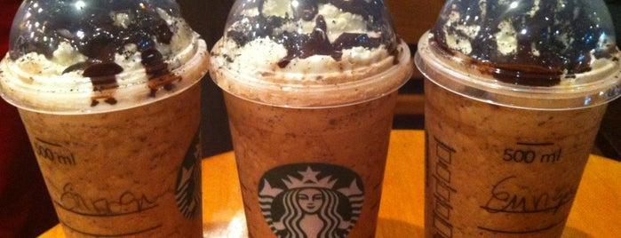 Starbucks is one of Tempat yang Disukai Sebastian.