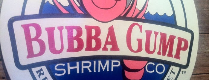 Bubba Gump Shrimp Co. is one of I've Been Here.