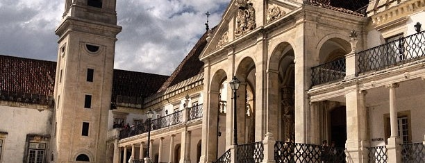 Universidade de Coimbra is one of Coimbra.