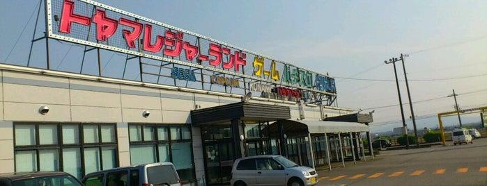 トヤマレジャーランド 小杉店 is one of 富山弐寺.
