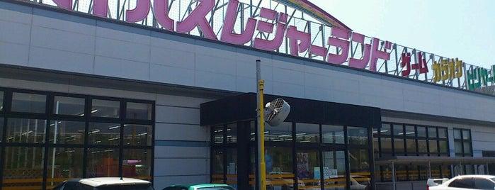 バイパスレジャーランド 宇ノ気店 is one of REFLEC BEAT colette設置店舗@北陸三県.