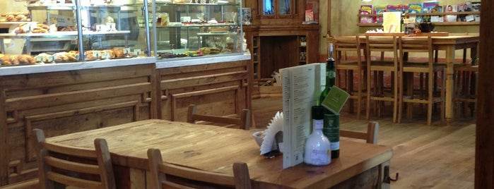Le Pain Quotidien is one of Moscow's Foreigner Friendly Places to Eat/Drink.