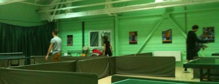 "Теннисный клуб ""Шато"" is one of Tempat yang Disukai Таня."