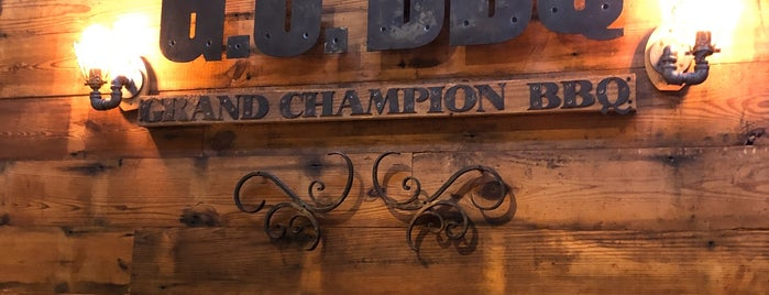 Grand Champion BBQ is one of Atlanta.