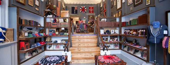 Duke & Winston Flagship Store is one of Philly.
