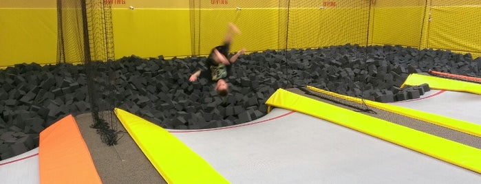 Jump Highway Trampoline Park is one of Gitte Fun Stuff.
