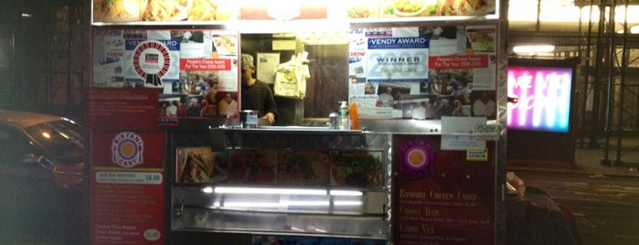 Biryani Cart is one of NYC Food on Wheels.