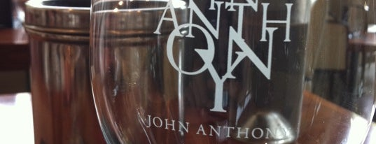 John Anthony Vineyards is one of Film. Food. Wine..