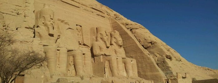Great Temple of Ramses II is one of World Heritage Sites List.