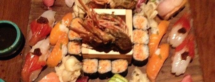 Blue Ribbon Sushi Izakaya is one of Hungry in Lower Manhattan.