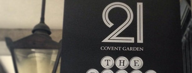 21 Covent Garden is one of London.