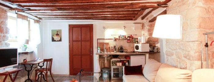 Charming studio in historical site is one of Tempat yang Disukai Ronaldo.