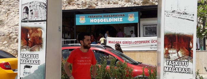 Taşkuyu Mağarası is one of สถานที่ที่ 👑Serkan👑 ถูกใจ.
