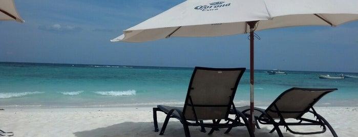 Playa Xpu-Ha is one of Honey Moon <3.