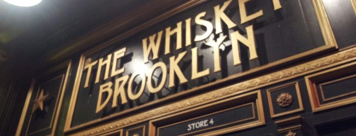 The Whiskey Brooklyn is one of bars to check out..