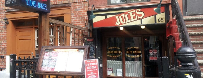 Jules Bistro is one of NYC.