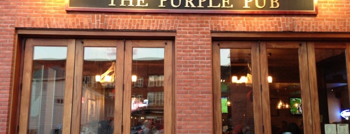The Purple Pub is one of Bars I've been to.