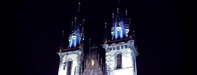 Kostel Matky Boží před Týnem is one of Pražské památky.