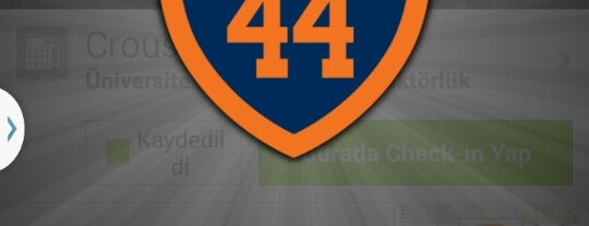Crouse-Hinds Hall is one of 100% Syracuse 44 Badge.