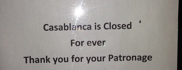 Casablanca is one of 40 Days Left in Boston.
