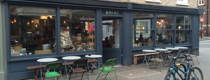 Briki is one of London Coffee.