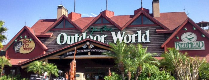 Bass Pro Shops is one of Orlando.