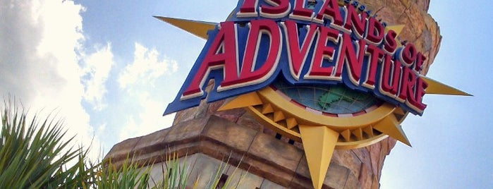 Universal's Islands of Adventure is one of Orlando, FL.
