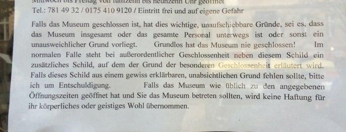 Museum der unerhörten Dinge is one of Berlin Best: Sights.