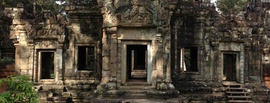 Chau Say Thevada I ប្រាសាទចៅសាយទេវតា is one of Angkor Archaeological Park Highlights.