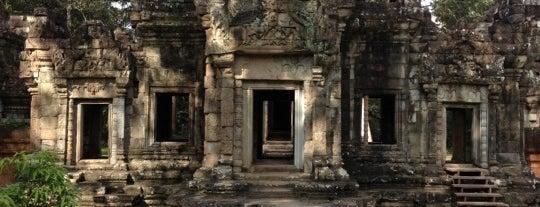 Chau Say Thevada I ប្រាសាទចៅសាយទេវតា is one of Angkor Archaeological Park Highlights.
