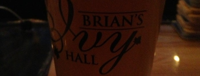 Brian's Ivy Hall is one of Going Out.