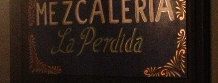 Mezcaleria La Perdida is one of Querétaro :).