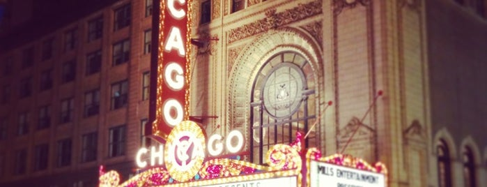 The Chicago Theatre is one of Chicago Out and About.