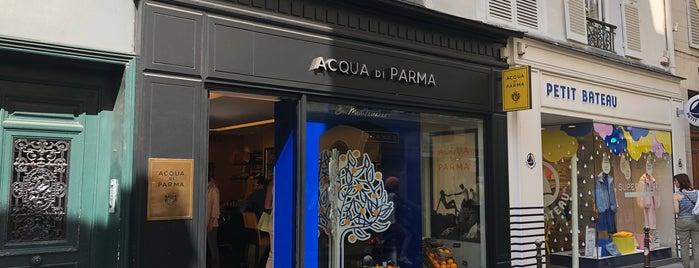 Acqua di Parma is one of Paris.
