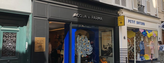 Acqua di Parma is one of Paris, France 🥐🇫🇷.