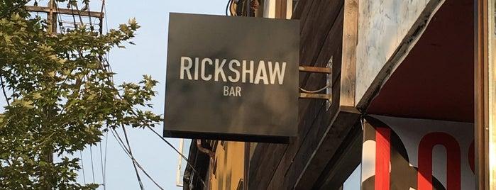 Rickshaw Bar is one of Tempat yang Disukai Rachel.