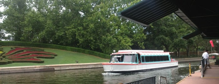 Friendship Boat Dock - International Gateway is one of Transportation & Misc Disney World Venues.