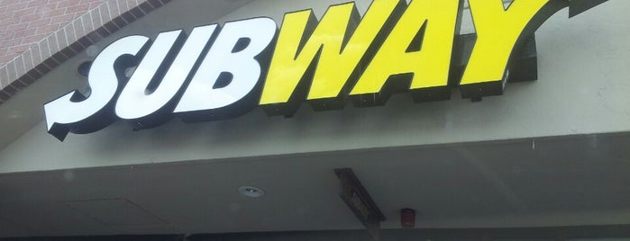 Subway is one of My Favorites.
