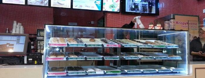 Krispy Kreme is one of Shanghai.
