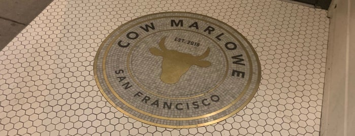 Cow Marlowe is one of 2019 in SF.