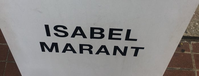 Isabel Marant is one of SF / Napa.